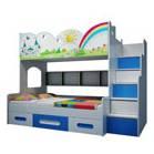 Giường tầng trẻ em cho bé trai và bé gái