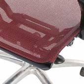 Ghế lưới văn phòng cao cấp Jupiter SB1000 Plus màu đỏ góc