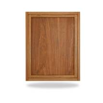 Đóng bàn gấp treo tường có chân chống phủ veneer