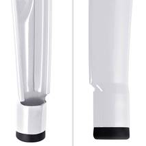 Ghế đôn Tolix chân thấp 45cm màu trắng 7
