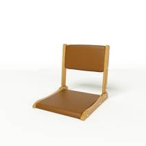 Ghế bệt cao cấp Pisu màu nâu 2