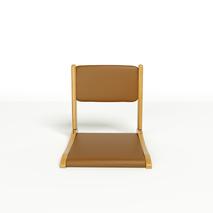 Ghế bệt cao cấp Pisu màu nâu 1
