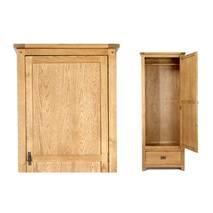 Tủ quần áo Rustic 1 cánh gỗ sồi 5