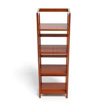Kệ sách 3 tầng HB340 gỗ cao su màu tự nhiên 1