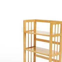 Kệ sách 4 tầng HB463 gỗ cao su màu tự nhiên 2