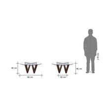 Kích thước Bàn trà sofa Oita