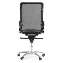 Ghế lưới văn phòng cao cấp Jupiter SB1000 Plus màu đen sau