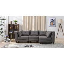 Sofa Mara Modular xam phoi canh 2