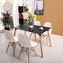 Bộ bàn Veron đen 4 ghế 3