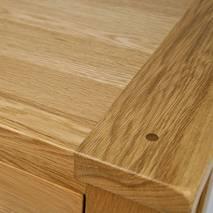 Góc Bàn ăn Chunky gỗ sồi 1m2