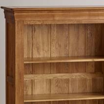 Kệ sách gỗ sồi Mỹ French 3 tầng chi tiết