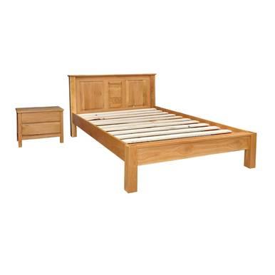 Bộ giường gỗ sồi French