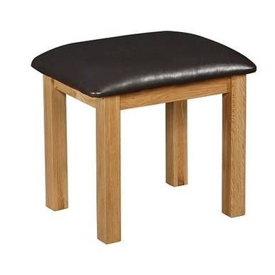 Ghế trang điểm French gỗ sồi