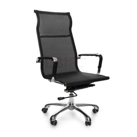 Ghế lưới IB811 chân hợp kim nhôm cao cấp màu đen