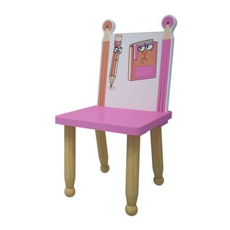 Ghế mầm non mẫu giáo bút chì màu hồng